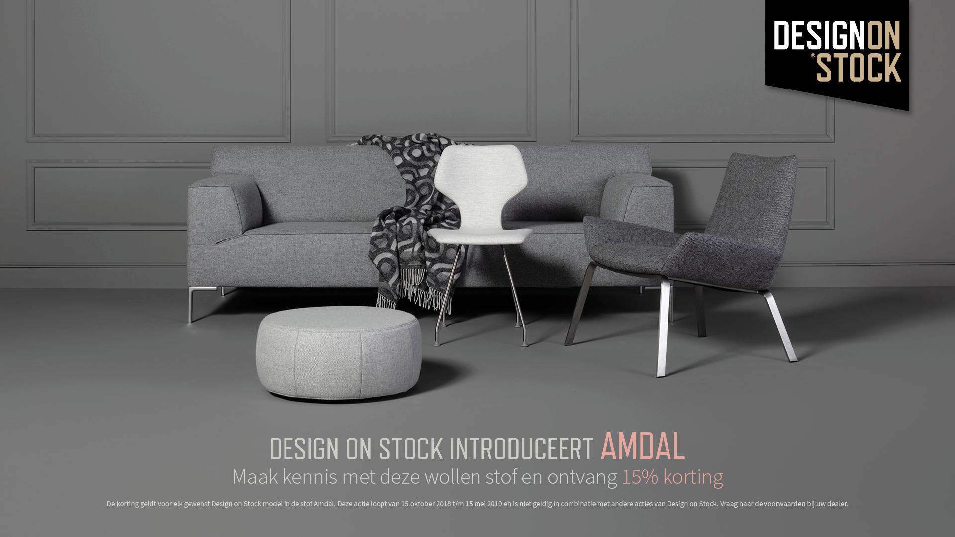 Design on stock introduceert amdal design meubelen interieur plus