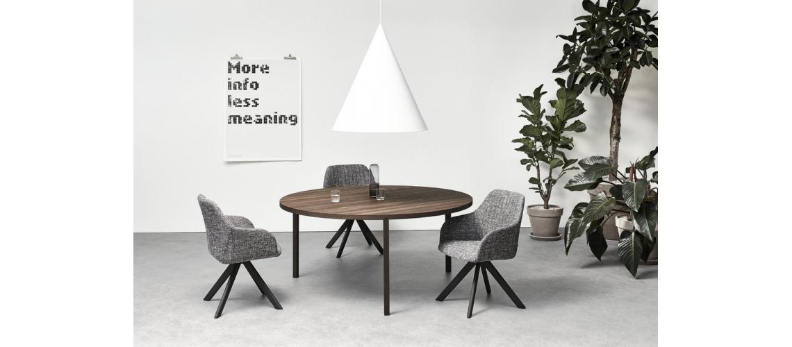 Arco slim round tafel
