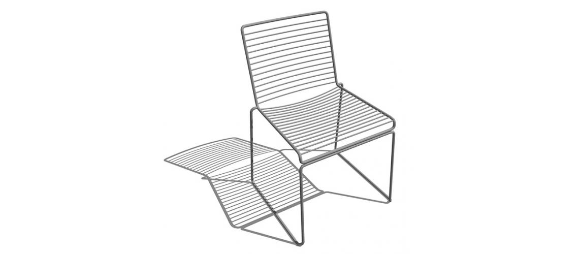 stoel Hee dining chair Hay outdoor