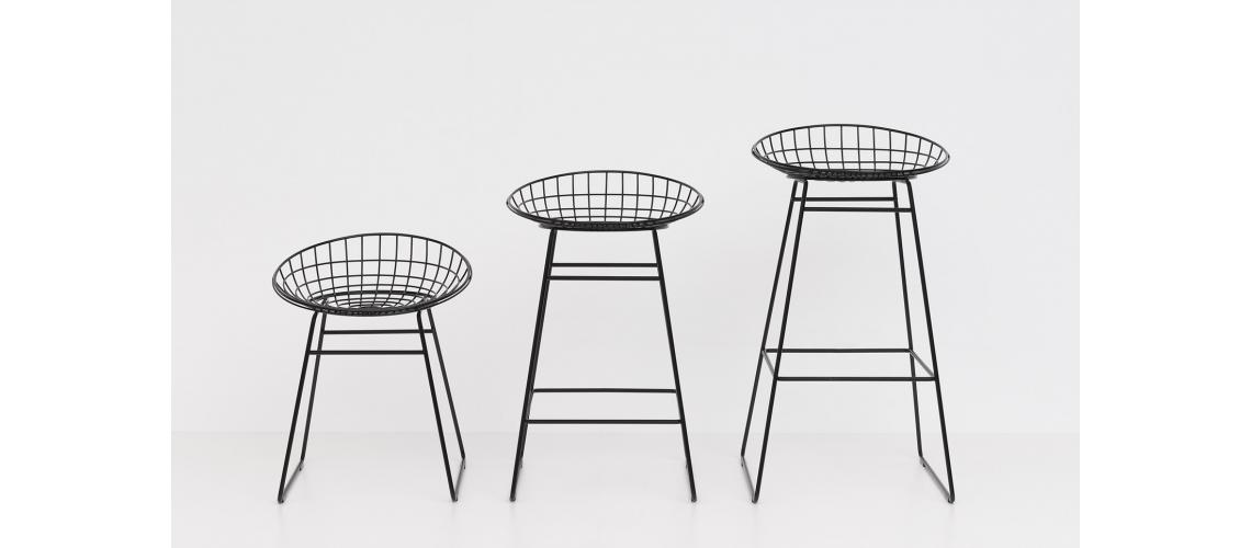 wirestool wirechair pastoe barkruk
