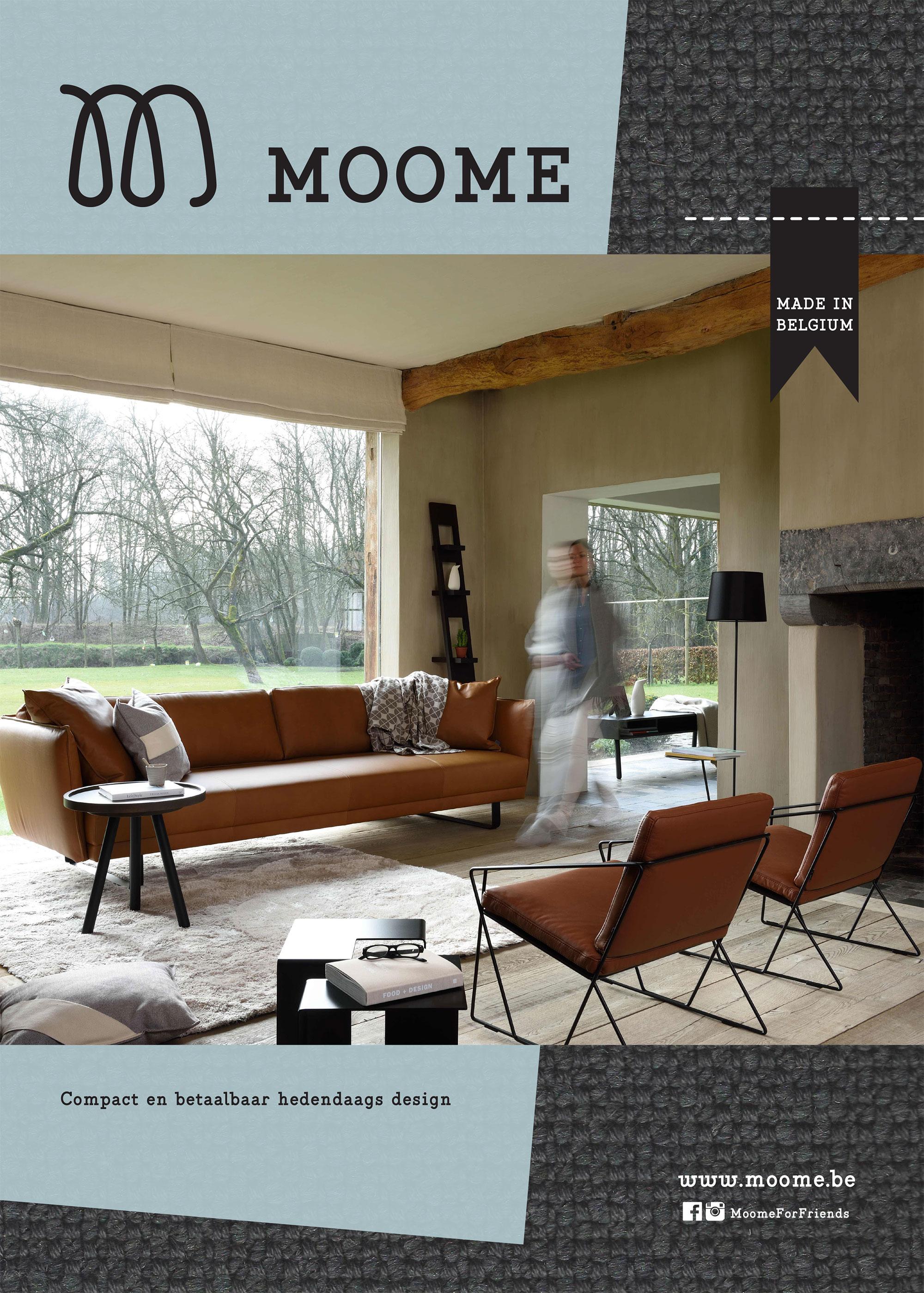Hedendaags Merk in de kijker - MOOME | Design meubelen Interieur Plus OB-48